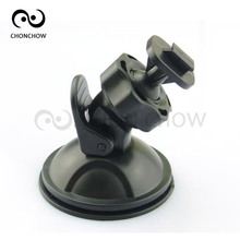 Free Shipping Black 360 Degree Rotating Car Holder For Sport DV Camera Mount DVR Holders Driving Recorder Suction Cup