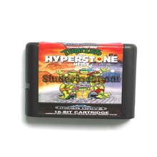 Teenage Mutant Ninja Turtles The Hyper Stone Heist 16 bit MD Game Card For Sega Mega Drive For Genesis(China (Mainland))