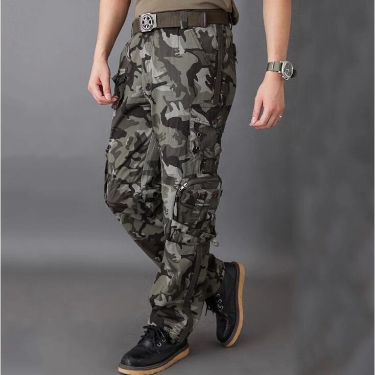 Mens Army Fatigue Pants