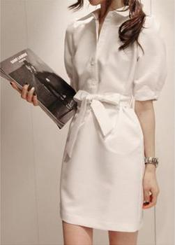 Wholesale&Retail Free Shipping 2013 jorya shyh autumn solid color dust coat one-piece dress with belt