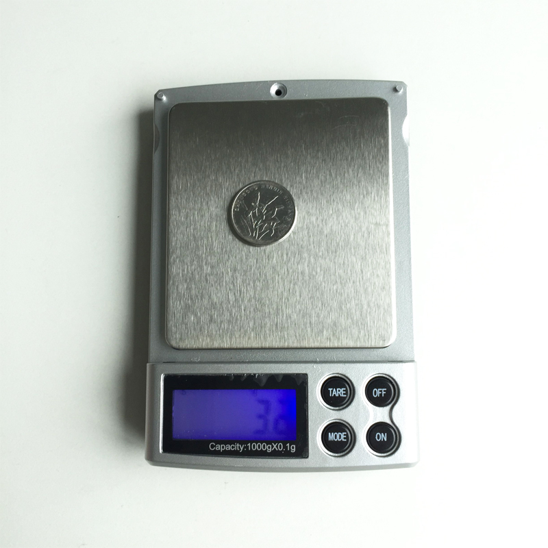 1000g x 0.1g LCD Display scale Mini Electronic Digital Jewelry Pocket Scale Balance Weight Weighing Scale g/ oz/ ct/ ozt/ dwt(China (Mainland))