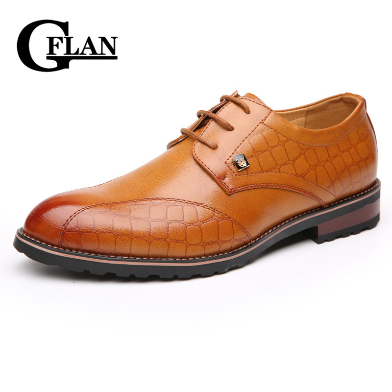 2016 New Spring&Summer Business shoes Men Oxfords Breathable Leather shoes British style zapatos de hombre(China (Mainland))