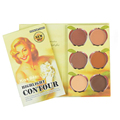 Professional 6 Colors Concealer Palette Corrector Camouflage Face Concealer Cream Make Up Highlight Contour Palette with