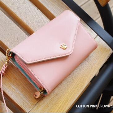 Crown Smart pouch Wallet Mobile Phone Bag case for LG D728 Spirit 4G LTE L70 Nexus 5 Joy H220 Nexus 4 L60 L65 AKA(China (Mainland))