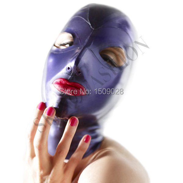 ! Latex mask face hood - SKIN FASHION store