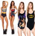 Sexy BATMAN SWIMSUIT One Pieces Sexy Swimwear S Bodysuit Digital Printing I AM THE BATMAN SUPERMAN