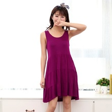 2016 New summer maternity dresses knitted plus size women's dresses pregnant dresses 16082