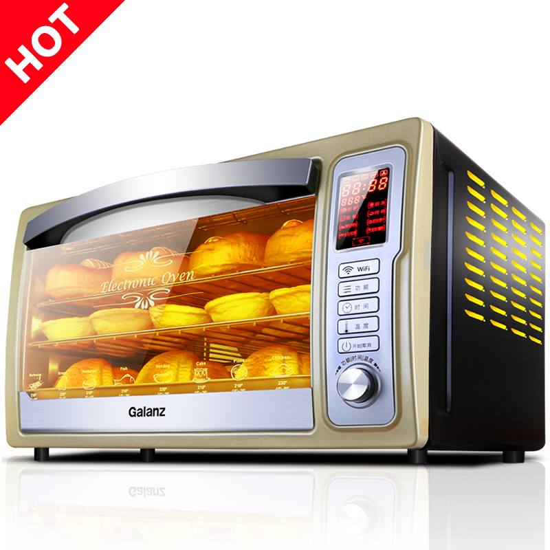 Free shipping 30L household multifunctional WIFI baking  control intelligent electric oven<br>