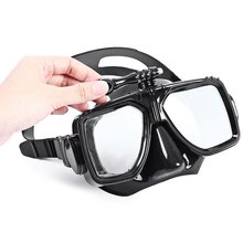1 Piece Soft Liquid Silicon Scuba Diving Mask For Gopro Clear Tempered Glass Lens Snorkel Mask For Adult Diving(China (Mainland))