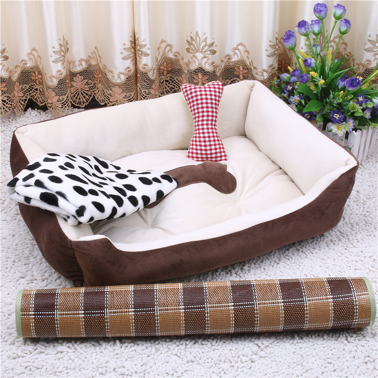 Xs s m l xl xxl dog house cat bed puppy cage pet mattress for Xxl dog house
