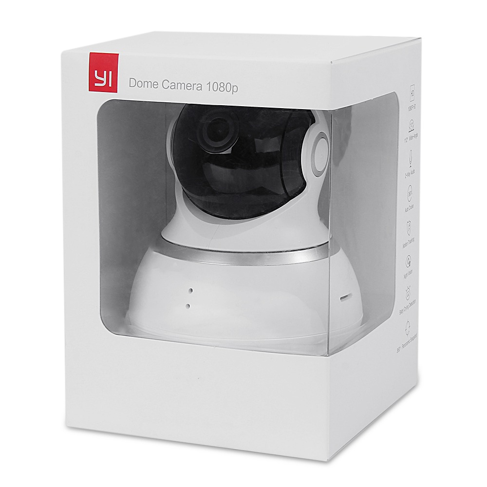 International Edition Xiaoyi Yi 1080p Dome Camera Xiaomi Ip Original 720p Version White S D F Fd G J T