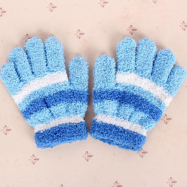 Boy Girl Rabbit Pattern Mittens Warm Winter Child Kid Knit Gloves Hot(China (Mainland))