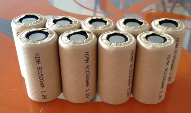 high power battery cell power tool battery Power Cell Ni cd 1500mAh 25Pcs recharge battery battery