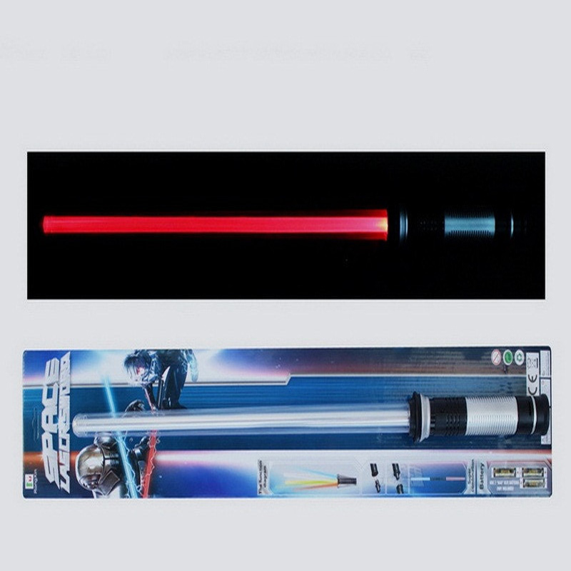 Гаджет  Hot Sale 2Pcs/lot Star Wars Lightsaber LED Flashing Light Sword Toy Cosplay Weapons Can Mutual Percussion Sabers For Boys Action None Игрушки и Хобби