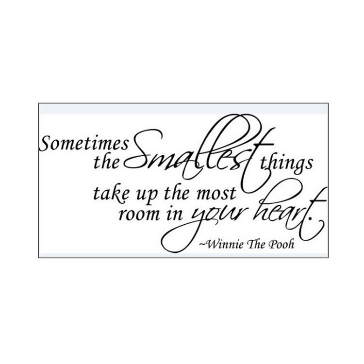 Sometimes Smalles Something Good Without Looking For It Wall Saying Vinyl Lettering Art Decal Quote Sticker Home Decal()