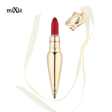 Mixiu Launches Queen Lipstick Luxurious Sharp Tapered Stunning Hue Matte Lipstick Long-lasting Moist Baby Lips Beauty Maquiagem