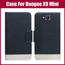Buy Hot Sale! Doogee X9 Mini Case New Arrival 5 Colors Fashion Flip Ultra-thin Leather Protective Cover Doogee X9 Mini Case for $3.99 in AliExpress store