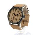 BOBO BIRD I17 Wooden Watches Calendar Dialplate Designer Leather Straps Japan Quartz Watch accept OEM Customize