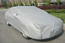 Free Shipping Multi size Full Car Cover Breathable UV Protection Outdoor Indoor Shield Car Covers Protectors Car Accessories(China (Mainland))