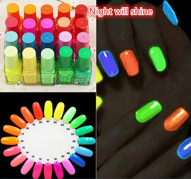 Promothion цена 2015 горячая распродажа 20 конфеты цвета ногтей свечение световой ...