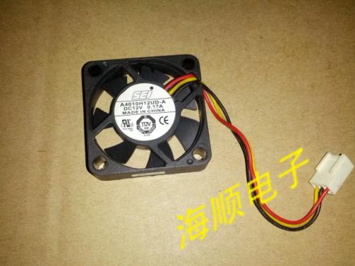 A4010H12UD-A SEI DC cooling fan 40mm 4cm DC 12V 0.17A 4010 Free Shipping(China (Mainland))
