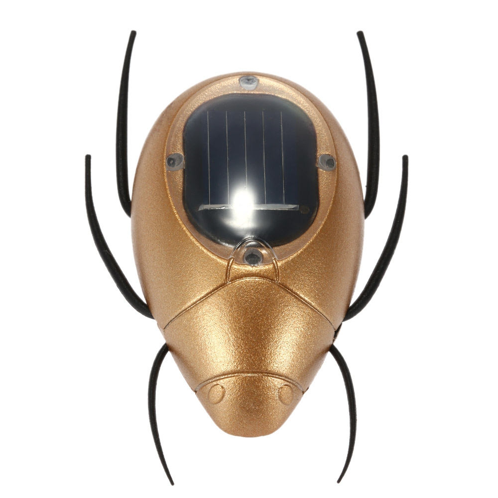 Cute Solar Powered Scarab Insect Magic Mini Solar Toys for Kids Children Education Toy Birthday Gift(China (Mainland))