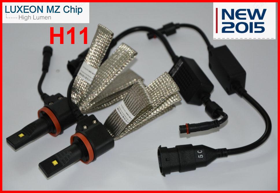 Светодиодные лампы для автомобиля H11 - YouTube