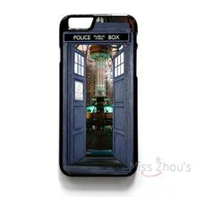 For iphone 4/4s 5/5s 5c SE 6/6s 7 plus ipod touch 4/5/6 back skins mobile cellphone cases cover DOCTOR WHO TARDIS POLICE BOX