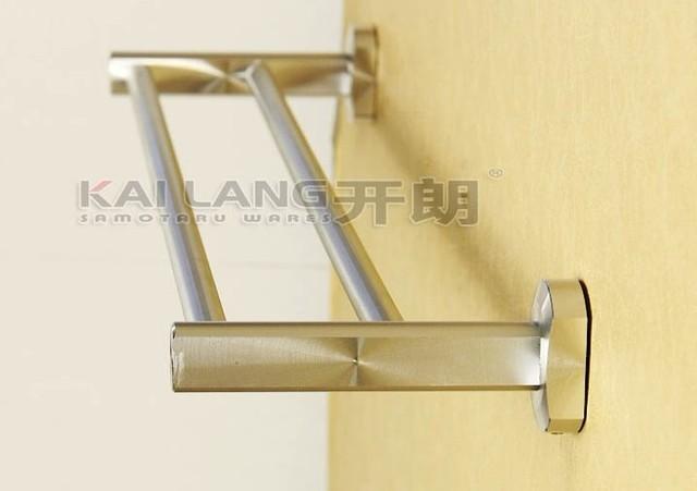 aluminum slatted metal bathroom wall shelf and towel rail shower towel bar wall mount towel rack bathroom kit
