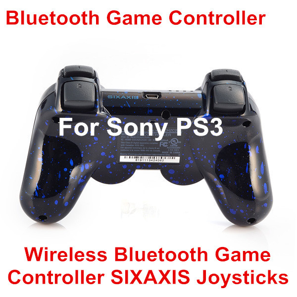 Wireless Game Controller SIXAXIS Joysticks Bluetooth Controller For Sony PS3 Controllers for PS3 Playstation3 3 Color(China (Mainland))