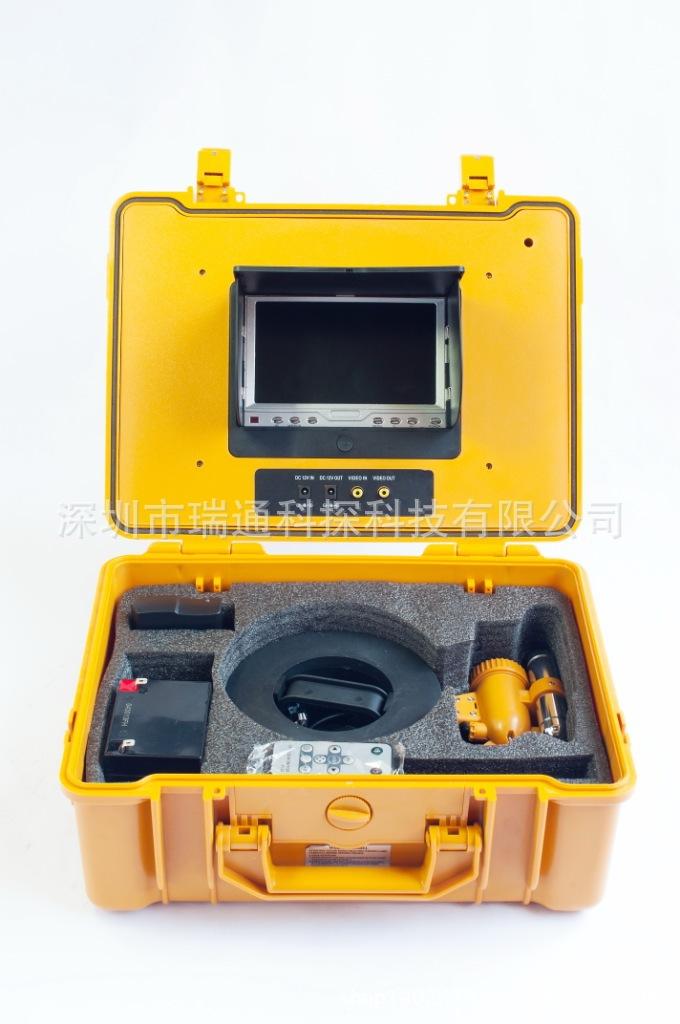360 rotation of underwater fishing farming visual monitoring wells to detect metal waterproof camera(China (Mainland))