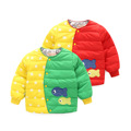The New Children Down Liner Does Not Hooded Pentagram Spell Color Single Breasted Jacket Fish Cartoon