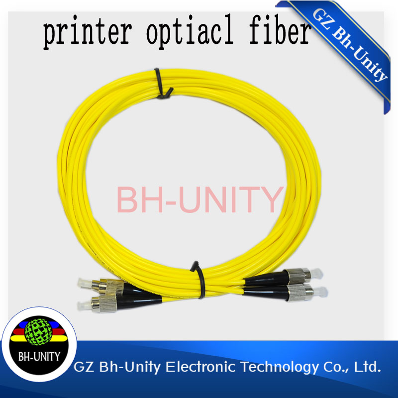 hot sale two head optical fiber cable for iconteck gongzheng large format printer for sale(Hong Kong)