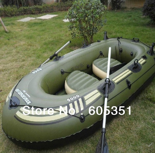 Free shipping 4 person inflatable boat fishing boat pvc for 4 person fishing boat