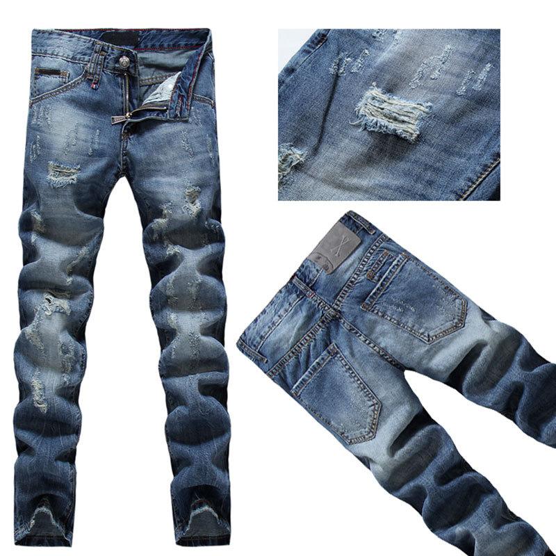 Aliexpress.com  Buy 2015 Free ShippingGermany Brand DE Famous Menu0026#39;s JeansFashion Skinny ...