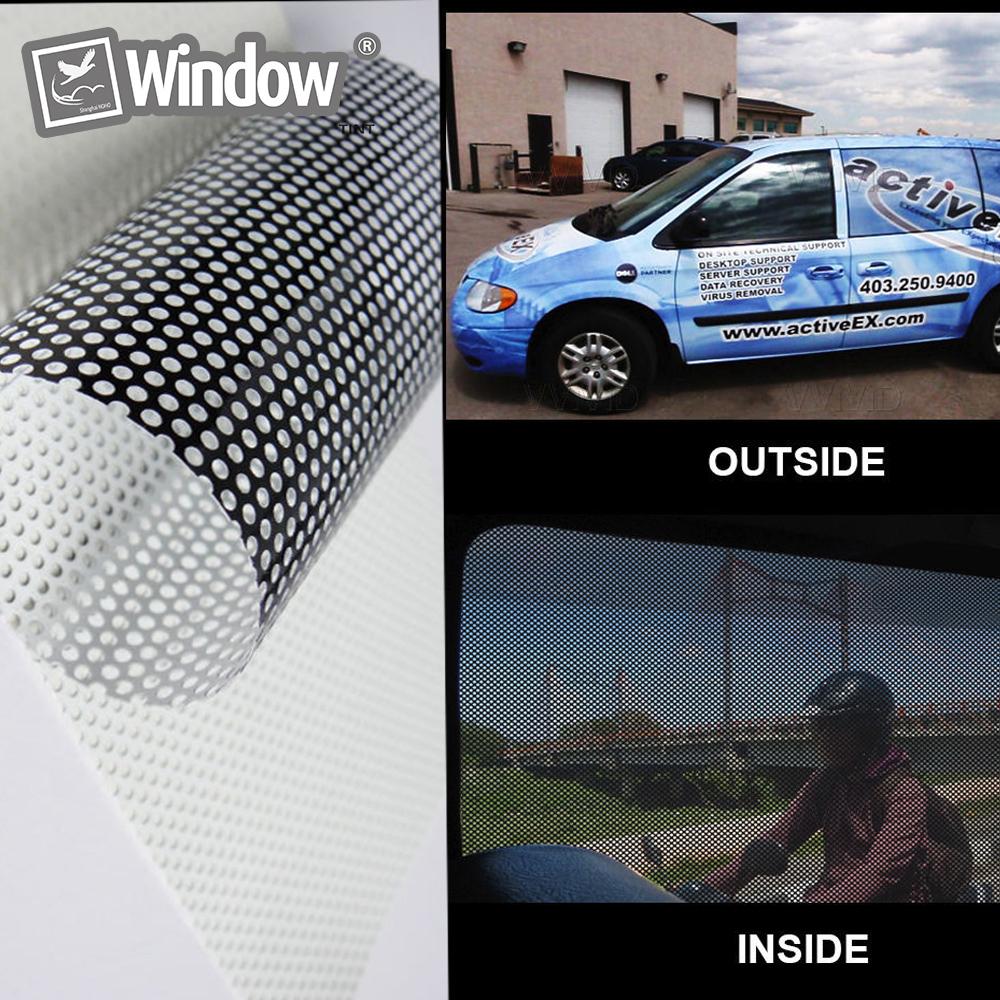 Online buy wholesale perforated vinyl film one way vision for Buy vinyl windows online