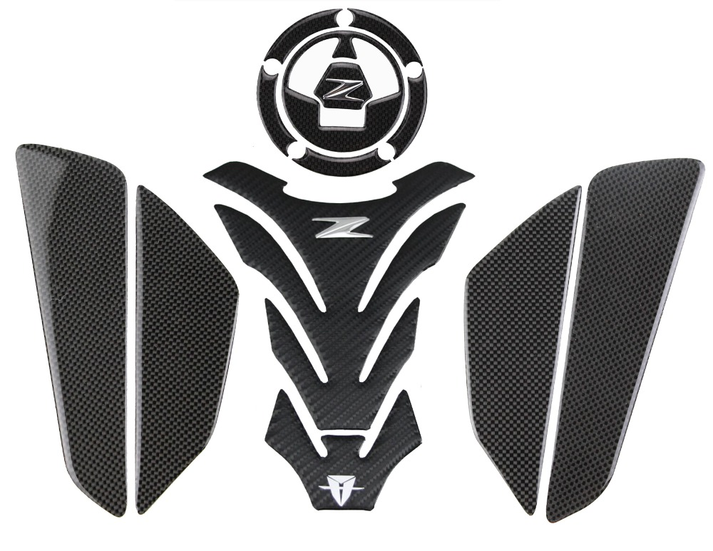 PRO-KODASKIN Motorcycle 3D Carbon Traction Tank Pad Sticker Decal GRIPPER STOMP GRIPS EASY for CBR1000RR All