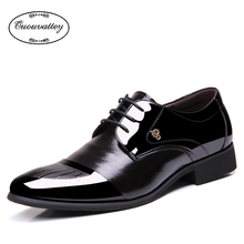 2016 Classical Men Dress Flat Shoes Luxury Men's Business Oxfords Casual Shoe Black / Brown Leather Derby Shoes(China (Mainland))