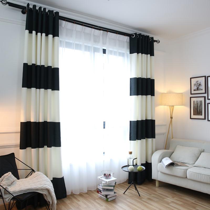 Thermique rideaux blanc promotion achetez des thermique rideaux blanc promotionnels sur for Rideaux pour salon noir blanc