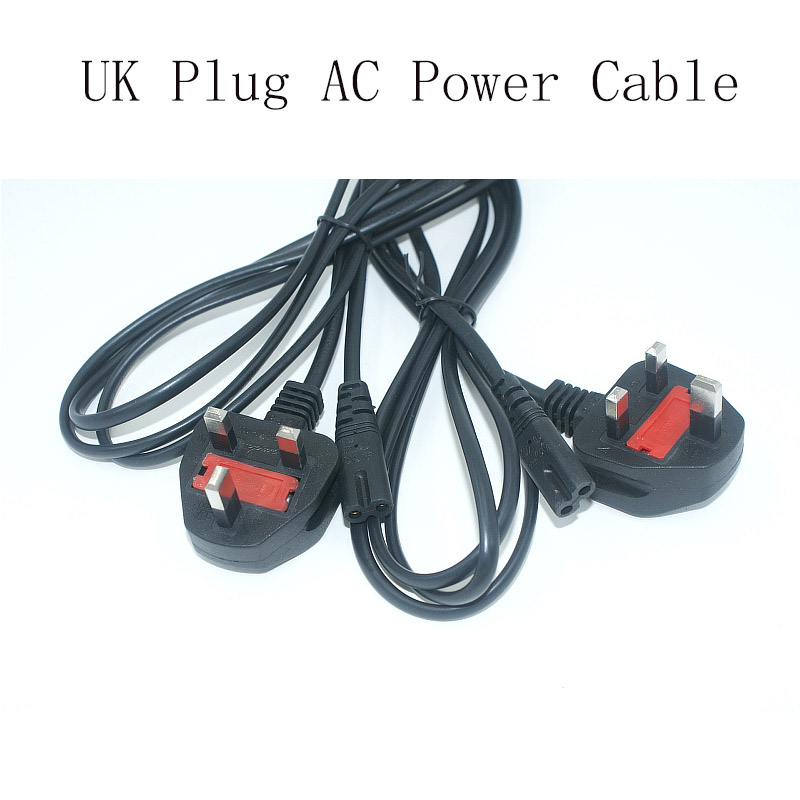 NEW UK Plug AC Figure 8 Power Cord Cable 1.2m 4FT For Battery Charger AC Power Adapter Laptop Wholesale<br><br>Aliexpress