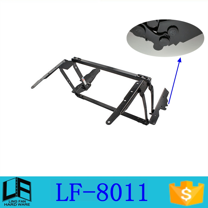Cheap price adjustable height lift top coffee tables hinge of three gears, coffee table mechanism lifting frame LF-8011(China (Mainland))