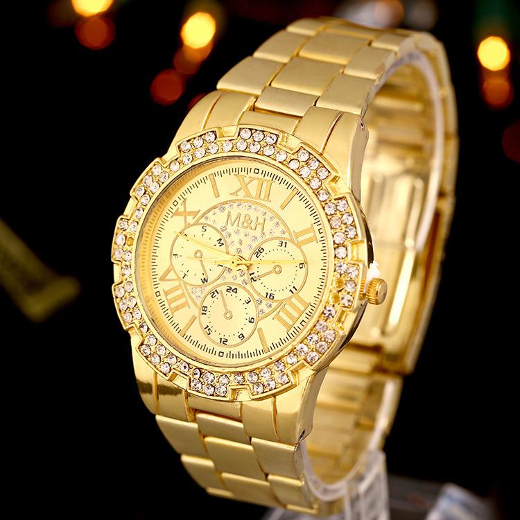 Watches men and women 2015 classic watch quartz watch digital watch women and men luxur