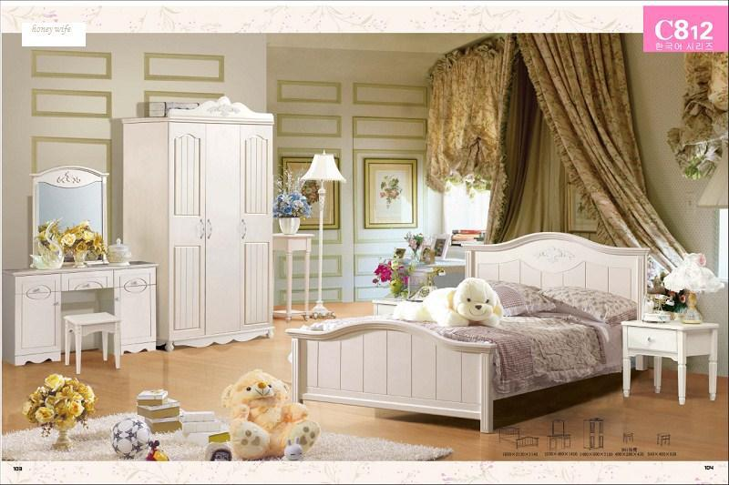 Mediterranean Style Elegant Beds Home Designs Factory