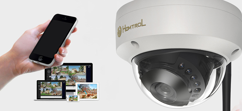 HT-SCA6 Wifi Dome IP Camera 1