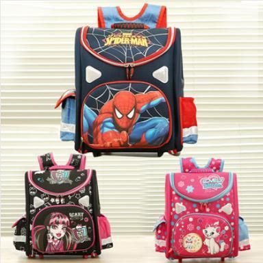 hot 21model choose Kids Backpack Butterfly monster high orthopedic school bag EVA Schoolbag Children School Bags boy andgirl