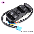 Best Quality OEM A2038210679 New Power Window Switch for MERCEDES W203 C CLASS C320 Front left