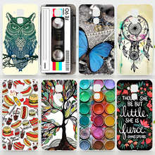 Case For Huawei Honor 5C Colorful Printing Drawing Plastic Hard Cover for Huawei Honor 5c