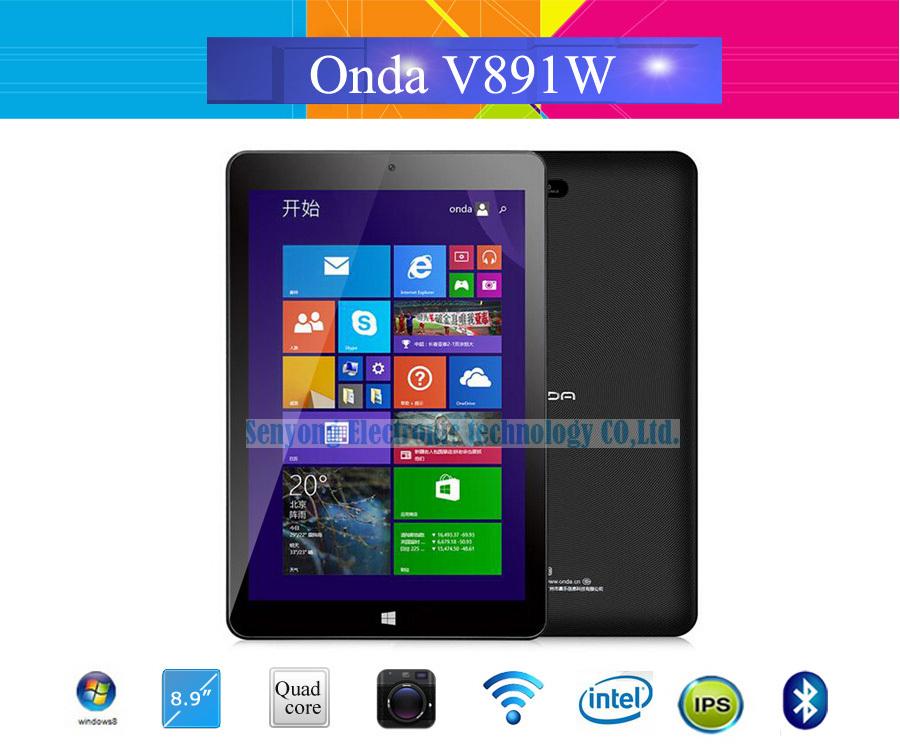Onda V891w V891 dual boot dual OS tablet pc 8.9