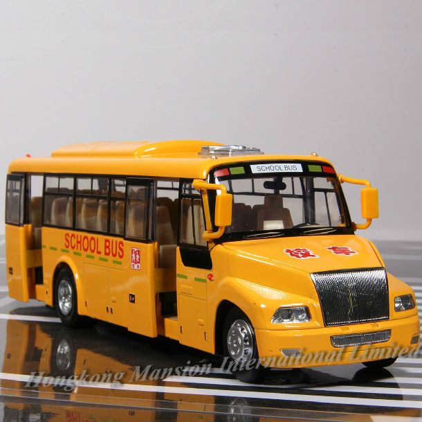 132 Car Model For Amecican School Bus style 1 (1)