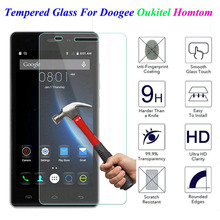 Buy 9H Tempered Glass Doogee X5 Max Pro X6 X3 F5 Y100 Y300 Oukitel K6000 Homtom HT3 HT6 HT7 Pro HT17 Screen Protector Cover Film for $1.11 in AliExpress store